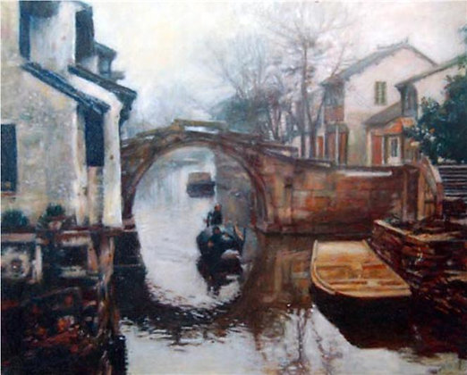 Jian Wu - Boat - Bridge