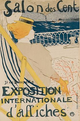 Henri Toulouse-Lautrec - LA PASSAGÈRE DU 54 - PROMENADE EN YACHT