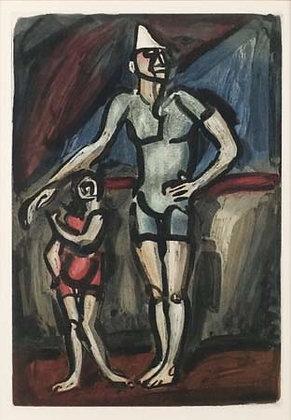 Georges Rouault - Clown et Enfant