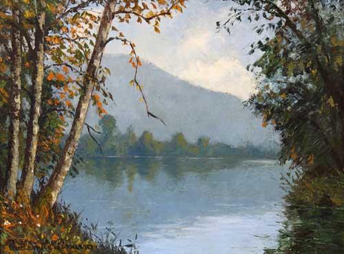 Paulémile Pissarro - Brume sur l'Orne