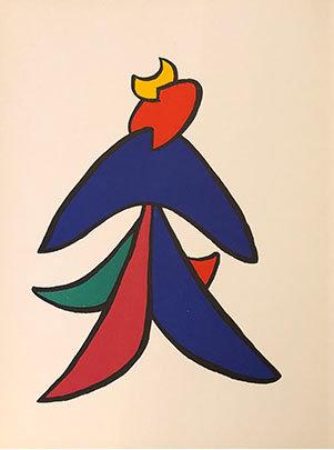 Alexander Calder - Derrière le Miroir 141: Stabiles VII