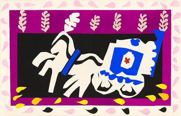 Henri Matisse - The Burial of Pierrot