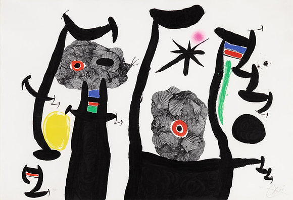 Joan Miró - Les Coquillages