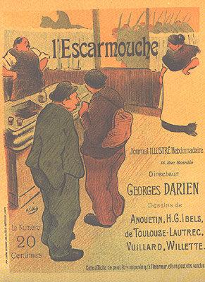 Henri-Gabriel Ibels - L'Escarmouche