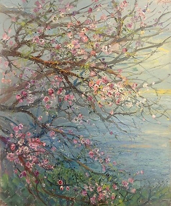 Bruno Zupan - Mountain Walk with Almond Blossoms