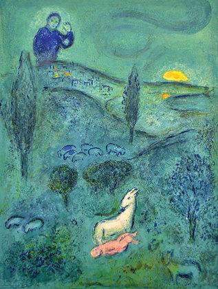 Marc Chagall - Lamon Discovers Daphnis