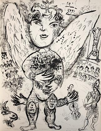 Marc Chagall - Le Cirque M. 509