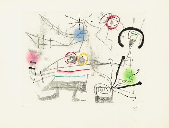 Joan Miró - Femme-Oiseau II
