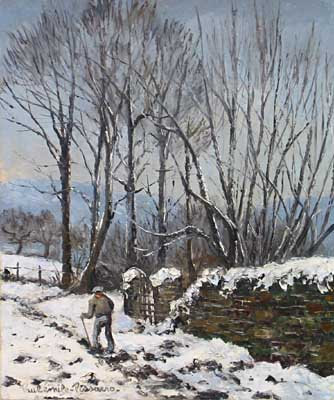 Paulémile Pissarro - Neige a St. Remy