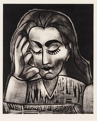 Pablo Picasso - Jacqueline Reading
