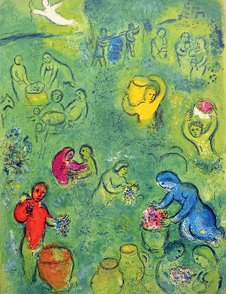 Marc Chagall - The Wine Harvest