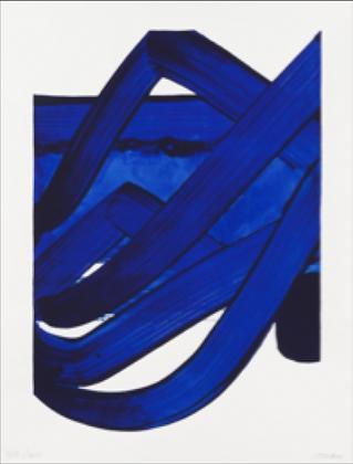 Pierre Soulages - Sérigraphie 18