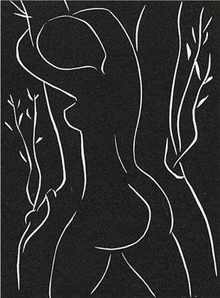 Henri Matisse - ...Elle y pose sa joue, Elle l'embrasse...