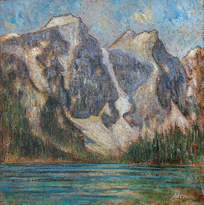 Samir Sammoun - Lake Moraine, les rocheuses