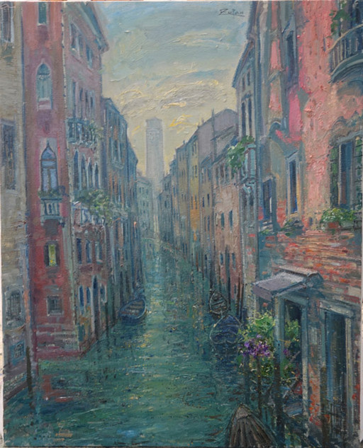 Canal by San Polo, Frari Towers