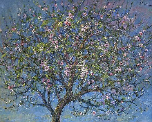 Bruno Zupan - Almond Branches in Moonlight