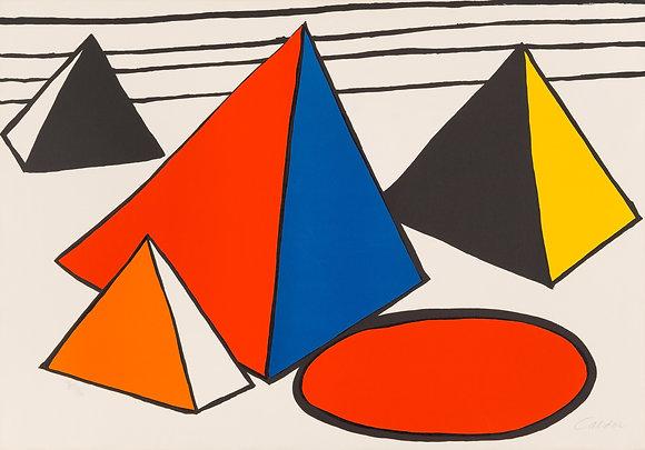 Alexander Calder - Four Pyramids