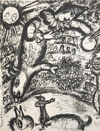 Marc Chagall - Le Cirque M. 526