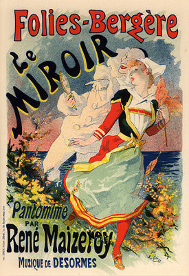 Jules Chéret - Le Miroir