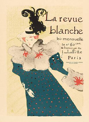 Henri Toulouse-Lautrec - La Revue Blanche