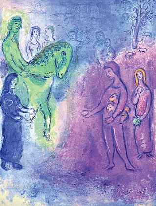 Marc Chagall - Arrival of Dionysophanes