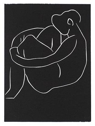 Henri Matisse - . . . SEULE, AU PIED DU GRAND CAROUBIER . . .
