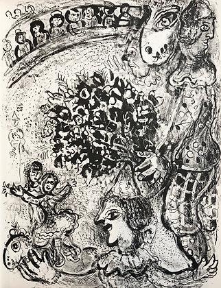 Marc Chagall - Le Cirque M. 502