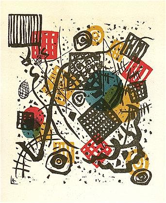 Wassily Kandinsky - Kleine Welten V (Small Worlds V)