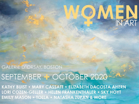Women in Art: Our First-ever Virtual Collectors' Receptions & Artist Talks!