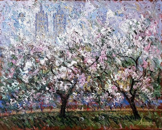 Samir Sammoun - Le printemps, Central Park