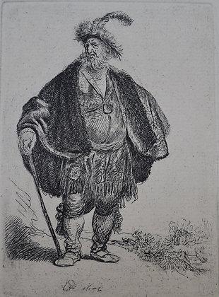 Rembrandt Harmensz Van Rijn - The Persian (Vieillard A Grande Barbe)