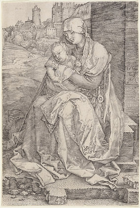 Albrecht Dürer - Madonna by the Wall