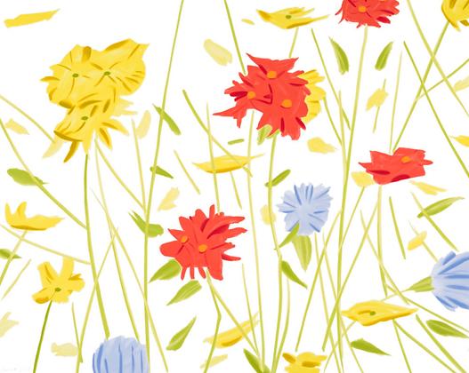 Alex Katz - Wildflowers