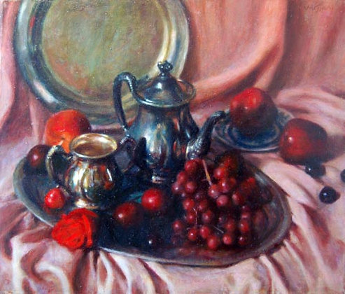 Jian Wu - Still Life with Fruit