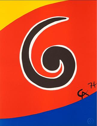 Alexander Calder - Sky Swirl