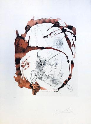 Salvador Dalí - Theseus and Minotaurus