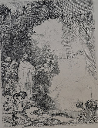 Rembrandt Harmensz Van Rijn - The Raising of Lazarus