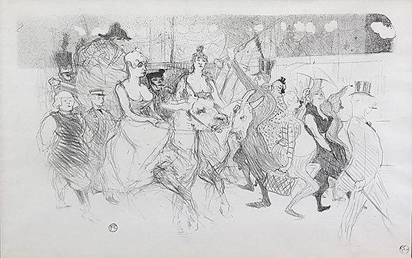 Henri Toulouse-Lautrec - Un Redoute Au Moulin Rouge