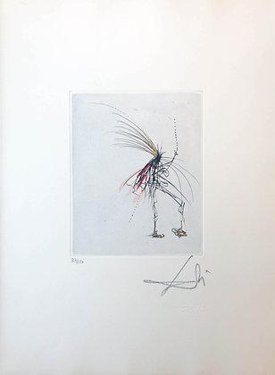 Salvador Dalí - Silhouette