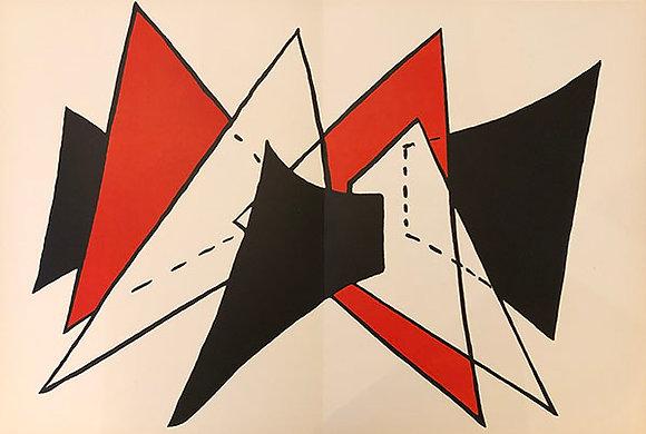 Alexander Calder - Red and Black Triangles