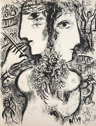 Marc Chagall - Le Cirque M. 519
