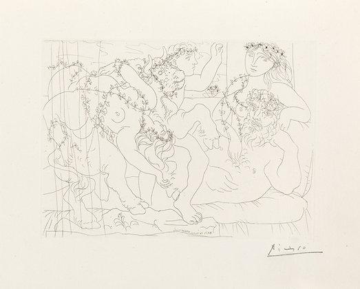 Pablo Picasso - Sculptur, Garçon et Modèle avec un Groupe Sculpté