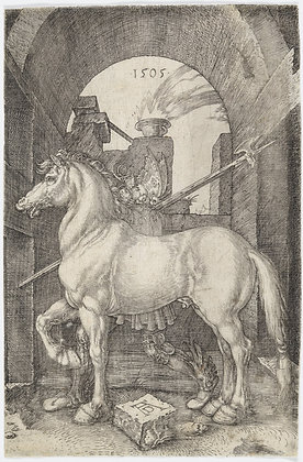 Albrecht Dürer - The Small Horse