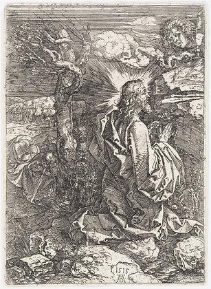 Albrecht Dürer - The Agony in the Garden