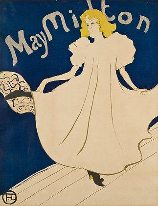 Henri Toulouse-Lautrec - May Milton