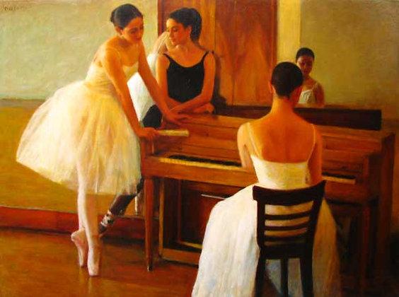 Jian Wu - Ballerinas at the Piano