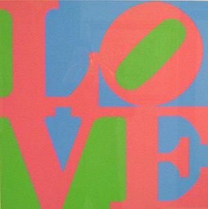 Robert Indiana - Love 1982