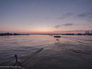 Gierpont van veerboot Eck en Wiel-Amerongen