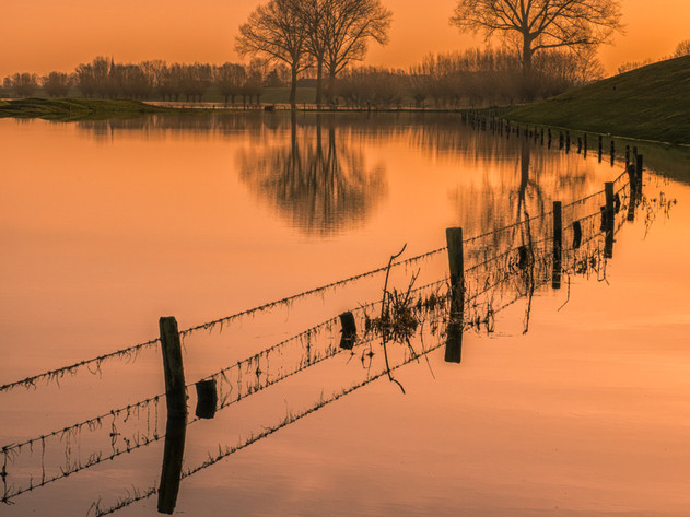 Reflectie in water