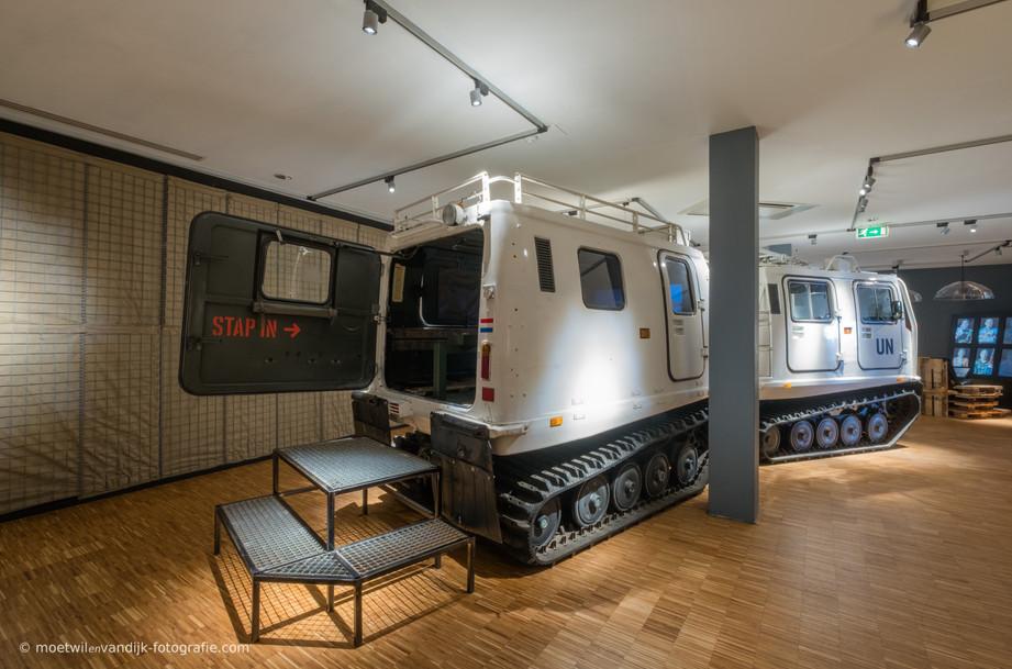 In het Mariniersmuseum is vanaf begin 2020 de BV 206 te bewonderen. Een BV 206 is een militair rupsvoertuig dat door het Korps Mariniers wordt gebruikt als 'all terrain carrier': inzetbaar bij de meest extreme weersomstandigheden, zoals bijvoorbeeld in de diepe sneeuw in Noorwegen.